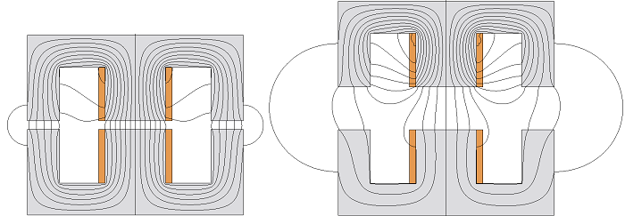 Magnetic-flux-distribution-with-and-without-vertical-displacement
