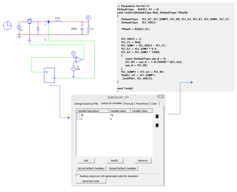 SimCoder Module in PSIM